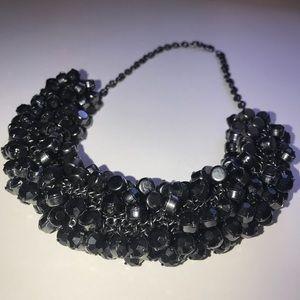 ♣️ Gorjana Beaded twisted statement necklace